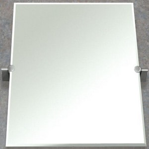 Gatco Rectangle Mirror in Satin Nickel G4389S