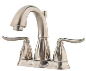Pfister Sedona™ Double Lever Handle Centerset Lavatory Faucet PF048LT0