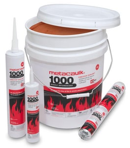 Rectorseal Metacaulk® 1000 10.3oz. Waterbased Firesafe Caulk REC66640