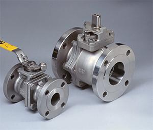 Flow-Tek 3 in. Stainless Steel Full Port Flanged 150# Ball Valve FF153R103KRLLL