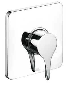 Axor Citterio M 6-3/4 in. Pressure Balance Trim with Single Lever Handle AX34808
