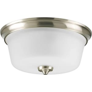 Progress Lighting Lahara 100W 2-Light 120V Medium Flushmount Ceiling Fixture PP3836