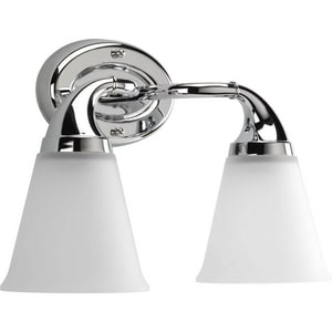 Progress Lighting Lahara 15-5/8 in. 100W 2-Light Bath Light PP2759