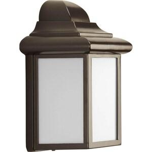 Progress Lighting Milford 8-3/4 x 5-3/4 in. 13W 1-Light Outdoor Wall Lantern PP5821