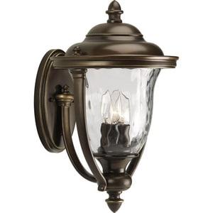 Progress Lighting 16-3/4 in. 60W 3-Light Wall Lantern PP5923