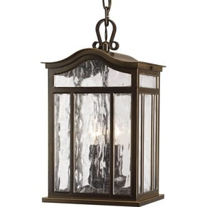 Progress Lighting Meadowlark 15 in. 60 W 3-Light Candelabra Lantern PP5502108