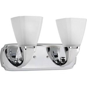 Progress Lighting Addison 15-7/8 in. 100W 2-Light Vanity Fixture PP2847