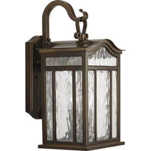 Progress Lighting Meadowlark 17-1/8 in. 60W 3-Light Outdoor Wall Lantern PP5717