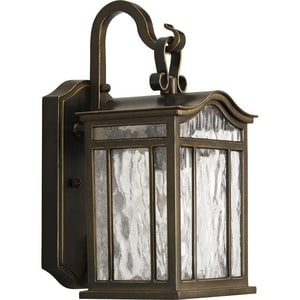 Progress Lighting Meadowlark 100 W 1-Light Medium Outdoor Wall Lantern in Oil Rubbed Bronze PP5715108