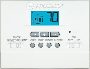 PROSELECT® 1H/1C 5/2 Programmable Thermostat PSTS11P52