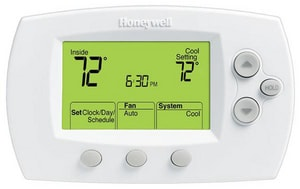 Honeywell 3-9/16 in. Programmable Thermostat or Heat Pump HTH6320U1000GENTRY