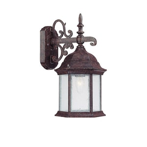 Capital Lighting Fixture Main Street 8 in. Width 100 W 1-Light Medium Lantern C9833