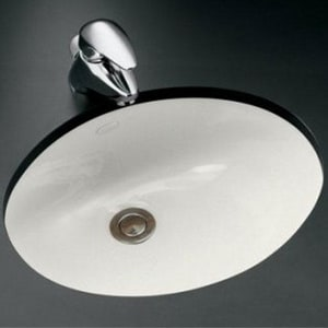Kohler Caxton® Vitreous China Undermount Lavatory Sink K2209