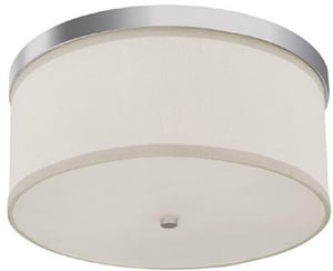 Capital Lighting Fixture Midtown 40 W 2-Light Medium Flush Mount Ceiling Fixture C20154