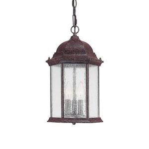 Capital Lighting Fixture Main Street 3-Light Hanging Lantern C9836