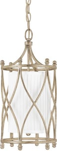 Capital Lighting Fixture Fifth Avenue 18 in. 60 W 1-Light Medium Pendant in Winter Gold C9081WG485
