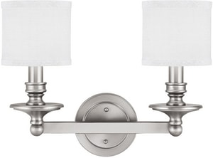 Capital Lighting Fixture Midtown 60W 2-Light Bath Vanity Light C1237451
