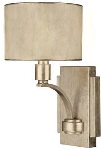 Capital Lighting Fixture Luna 60 W 12-3/4 in. 1-Light Candelabra Sconce in Winter Gold C1026WG410