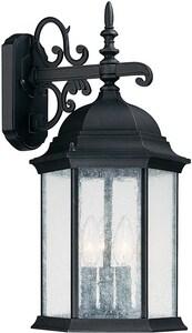 Capital Lighting Fixture Main Street 3-Light 60W Wall Lantern C9834