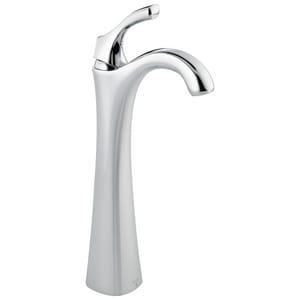 Delta Faucet Addison™ Single-Handle Tall Deck Mount Lavatory Faucet with Lever Handles D792DST