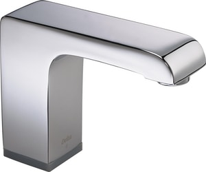 Delta Faucet Proximity ™ 0.5 gpm 1-Hole Electronic Lavatory Faucet with Sensing Technology D600T050