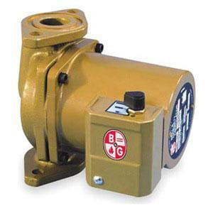 ITT-Bell & Gossett 115 V NBF25 1/25 hp Bronze Circulator Pump B103418LF