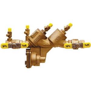 Apollo Conbraco Double Check Valve with Ball Valve and Chloramine Resistent Elastometer A4A10T2