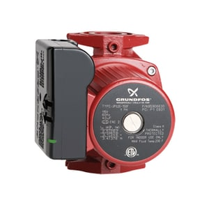 Grundfos UPS UPS26-150F 3-Speed 1/3 HP 115V Cast Iron Circulator Pump G95906630