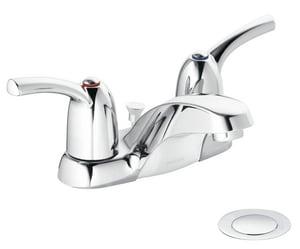 Moen Adler™ Double Lever Handle Centerset Lavatory Faucet MCA84403