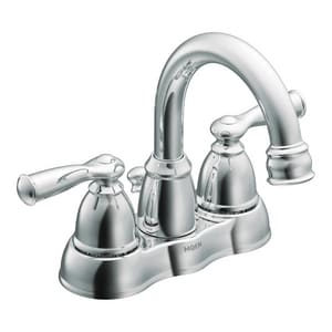 Moen Banbury® 2-Hole Lavatory Faucet with Double Lever Handle MCA84913