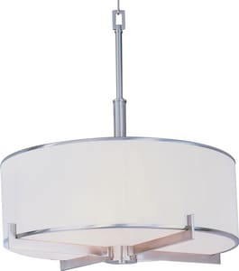 Maxim Lighting International Nexus 100 W 4-Light Candelabra Pendant M12053WT