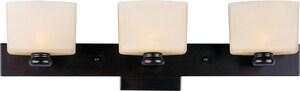 Maxim Lighting International Essence 7.5 W 3-Light Aluminium LED Bracket in Oil Rubbed Bronze M9003DWOI