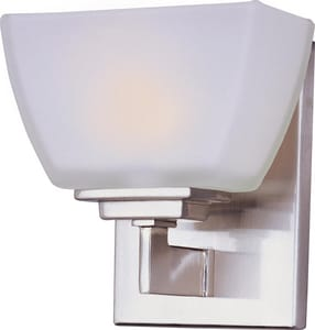 Maxim Lighting International Angle 60W 1-Light Bath Wall Light M9031SW