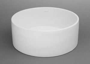 Ronbow Round Ceramic Vessel without Overflow R200008WH
