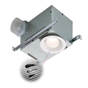 Broan Nutone 70 Cfm Humidity Sensing Recessed Fluorescent Fan Or Light With Trim 744sflnt