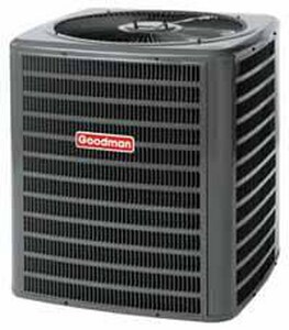 Goodman 30000 BTU 26 in. 2.5 Tons 13 SEER R-410A Heat Pump GVSZ130301