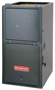 Goodman GCH Series 17-1/2 in. 95% AFUE 3 Ton Two-Stage Downflow and Horizontal 1/3 hp Gas Furnace GGCH953BX