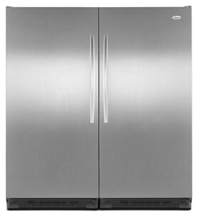 Whirlpool SideKicks® 17.7 CF Full Free Standing Refrigerator in Stainless Steel WEL88TRRWS