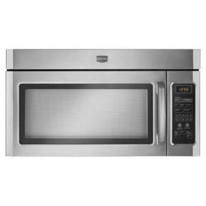 Maytag 1.6 cf 1000 W Over-The-Range Microwave in Stainless Steel MMMV1164WS