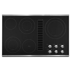 Kitchenaid Architect® 36 in. Electric Cooktop 5-Burner Downdraft KKECD867X