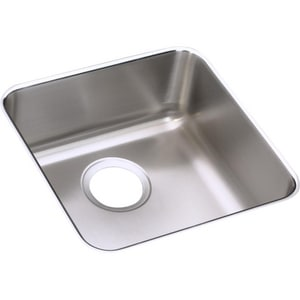 Elkay Lustertone® 14-1/2 x 14-1/2 x 4-7/8 in. Single-Bowl Bar Sink EELUHAD121250