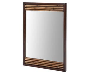 Xylem Bambu™ 26 in. Mirror in Dark Bamboo XMBAMBU26DB