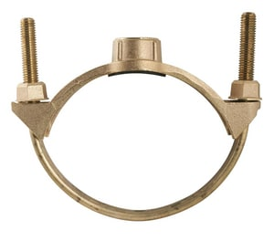 Bronze Single Strap Saddles