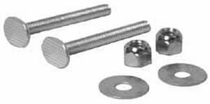 JB Products 2-1/4 in. Brass Closet Bolt J1006CBX