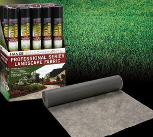 Hanes Geo Pro Platinum Plus™ 4 x 250 ft. 5 oz. 25 yd. Landscape Fabric H46591