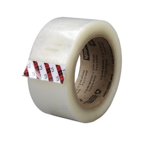 3M 50m Package Tape in Clear 3M02120013679