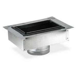 Gray Metal South 10 x 8 in. Galvanized Steel Register Box SHMFIBR810UXP