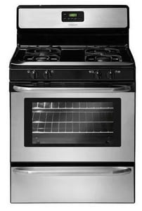 Frigidaire 30 in. Multicolor Free Standing Gas Range in Stainless Steel FFFGF3047LS
