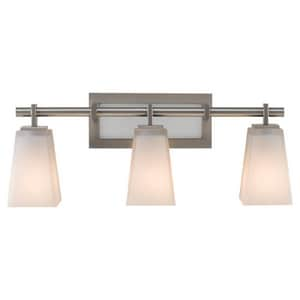 Murray Feiss Industries Clayton 8-5/8 in. 100W 3-Light Wall Mount Medium E-26 Bath Light MVS16603