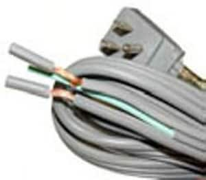 JMF 3-Wire Appliance Cord with Angle Plug J49912127204